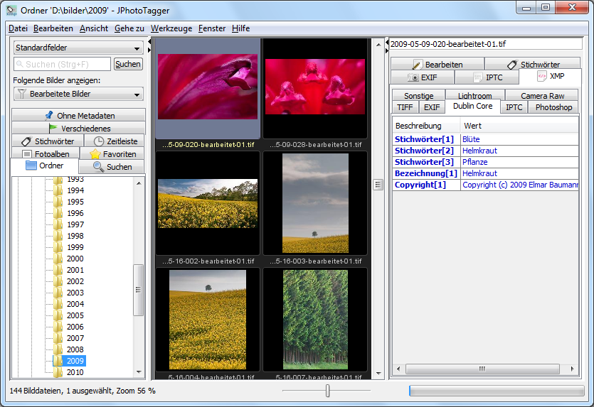 Portable JPhotoTagger full screenshot